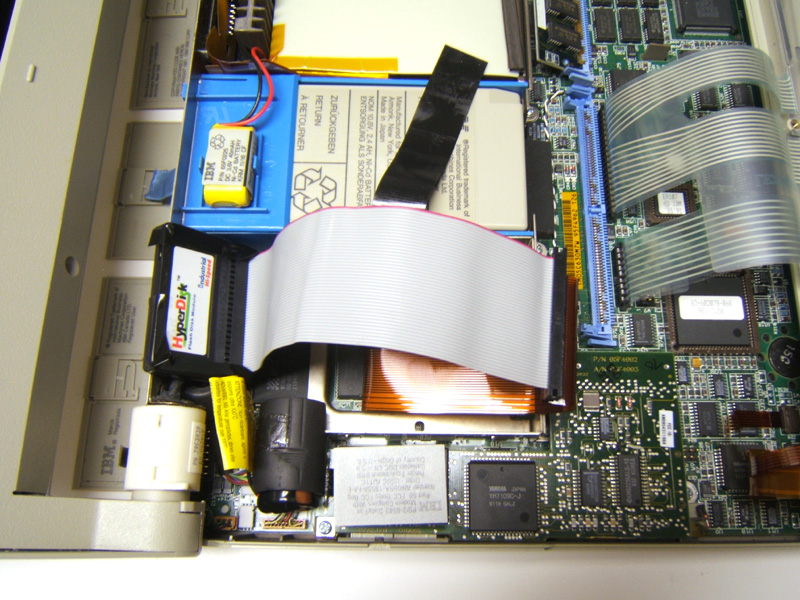 Upgrading an IBM L40SX to an SSD